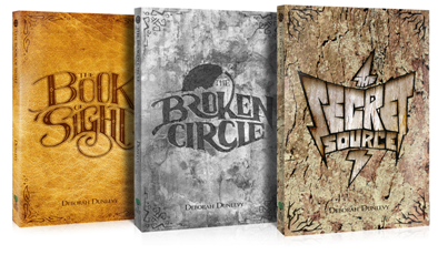 Three Book Deal: The Book of Sight, The Broken Circle, and The Secret Source